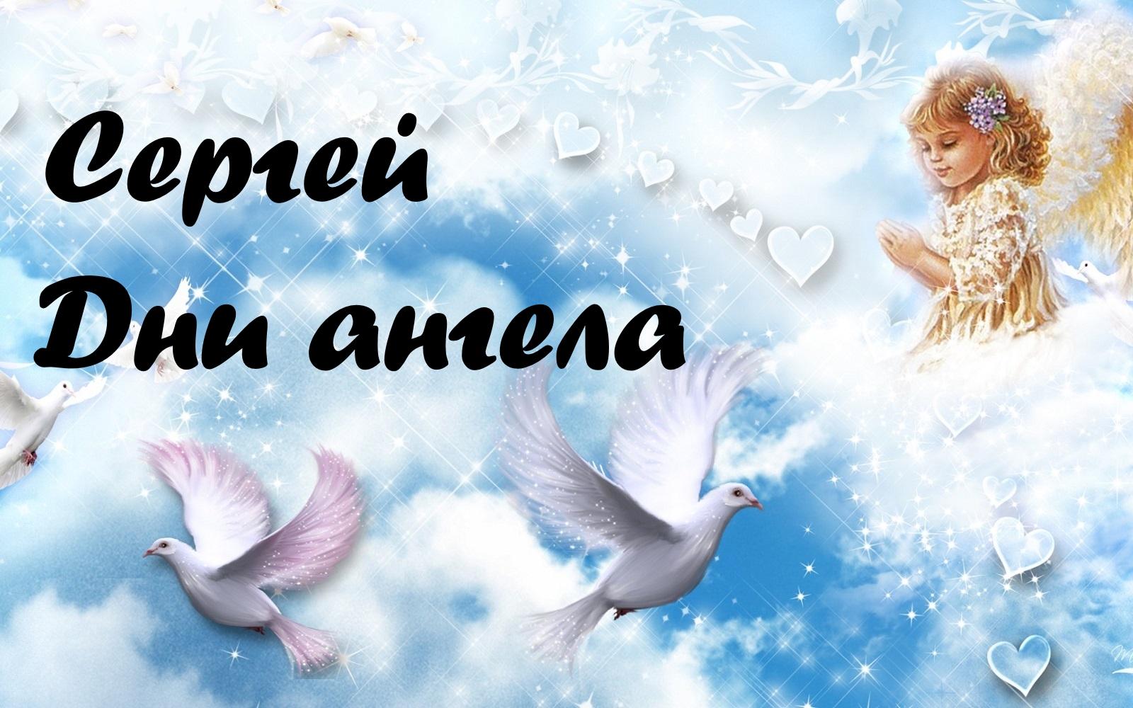 Сергей день ангела открытка