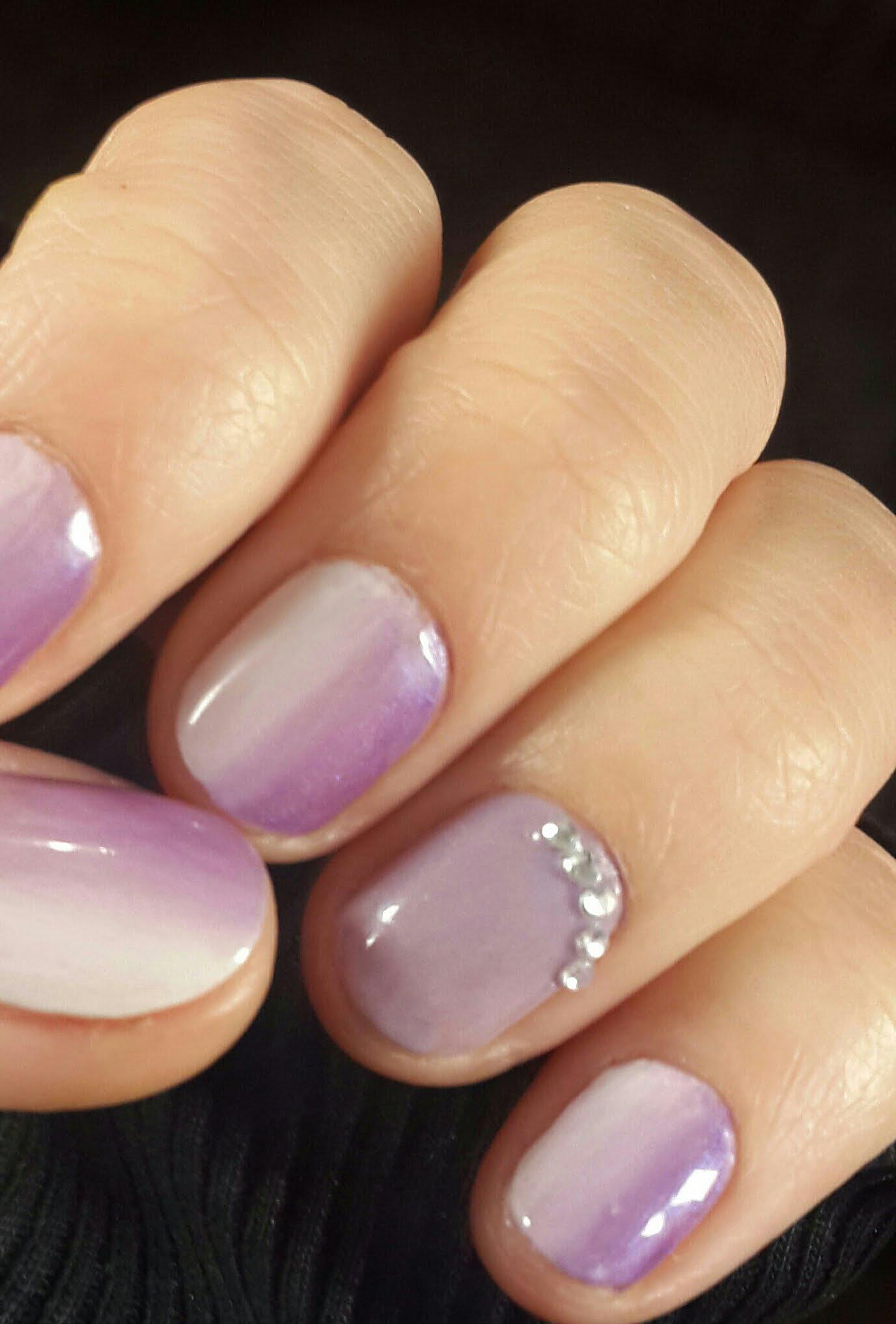Фиолетовый Гель Лак На Ногтях Фото