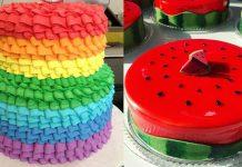 Коллекция лучших праздничных тортов