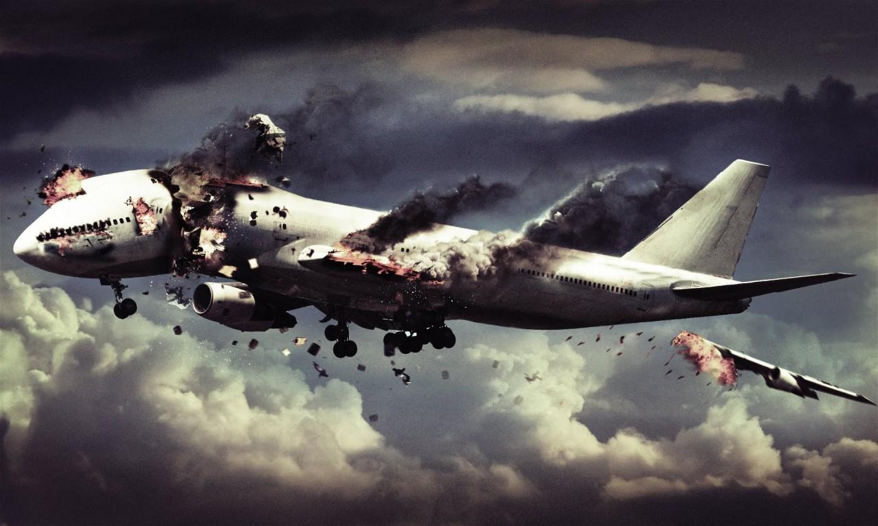 Сонник крушение самолета видеть со стороны