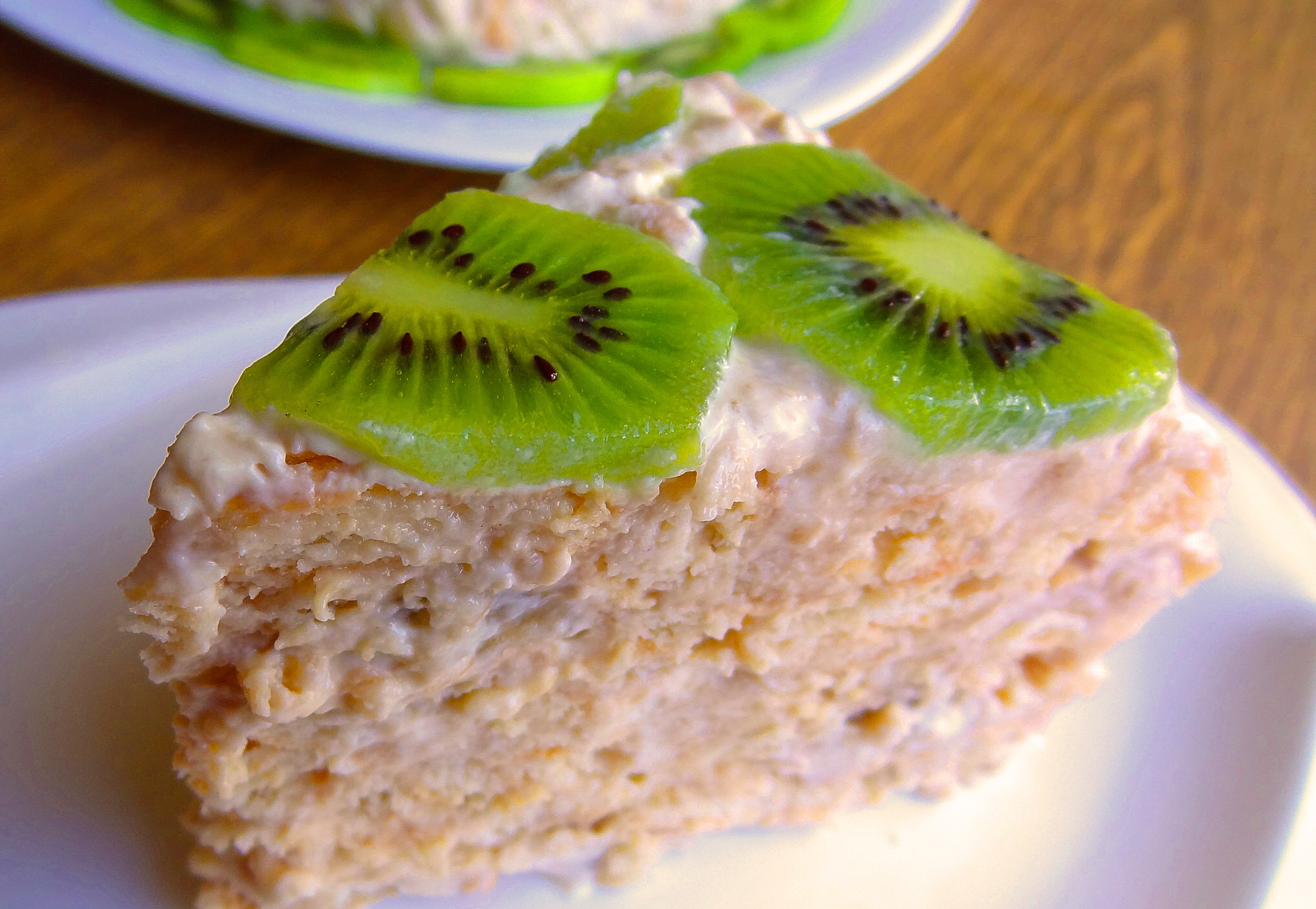 динозавры, сметанный торт без выпечки рецепт с фото часто