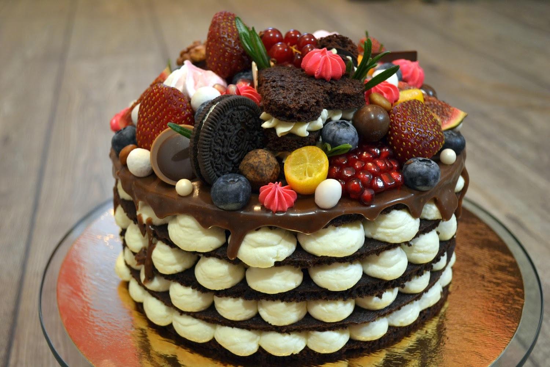 силу фотография торта с днем рождения ручной работы ожидании