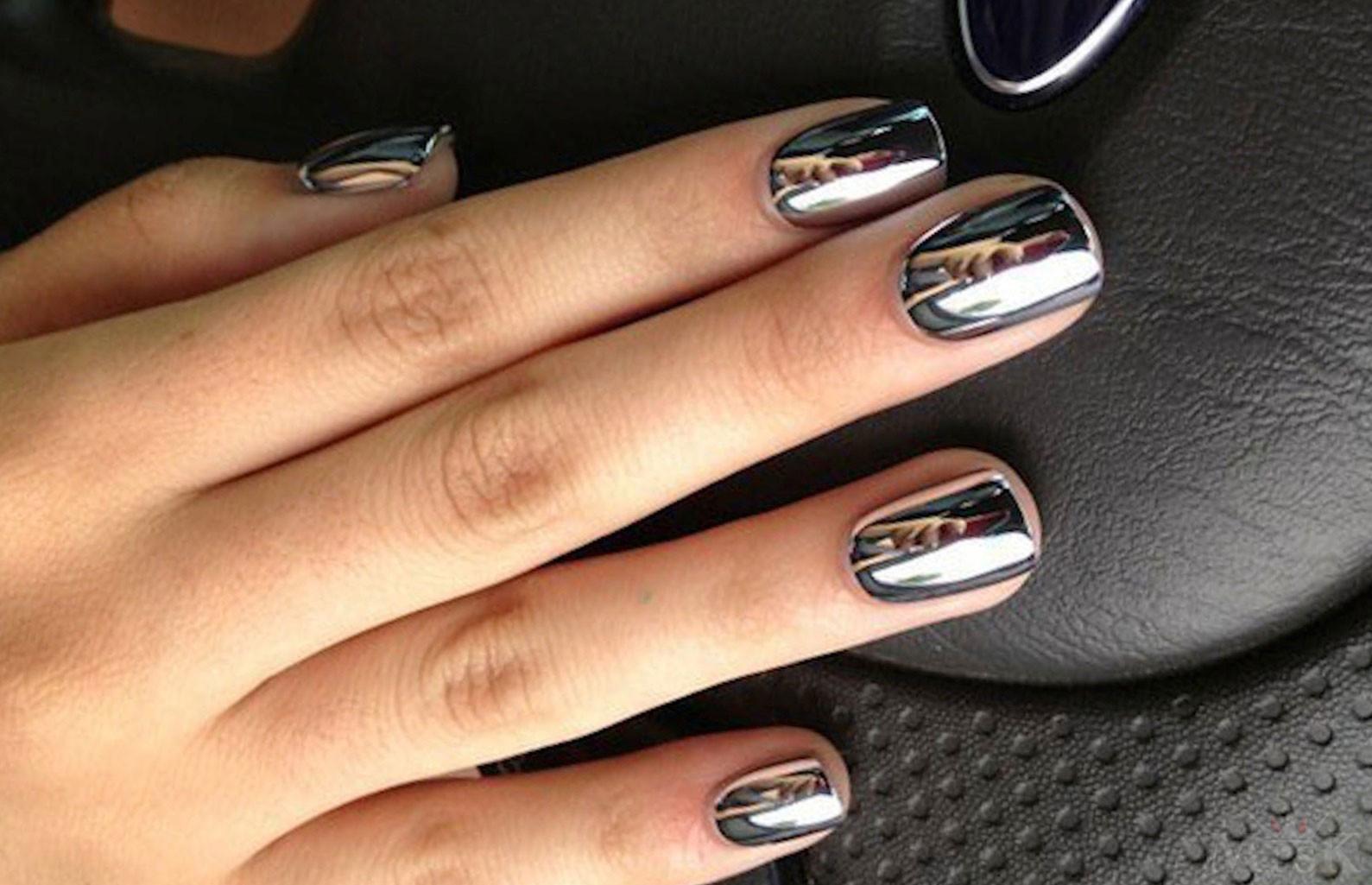 Дизайн ногтей с втиркой – 24 невероятно красивых вариантов с ...