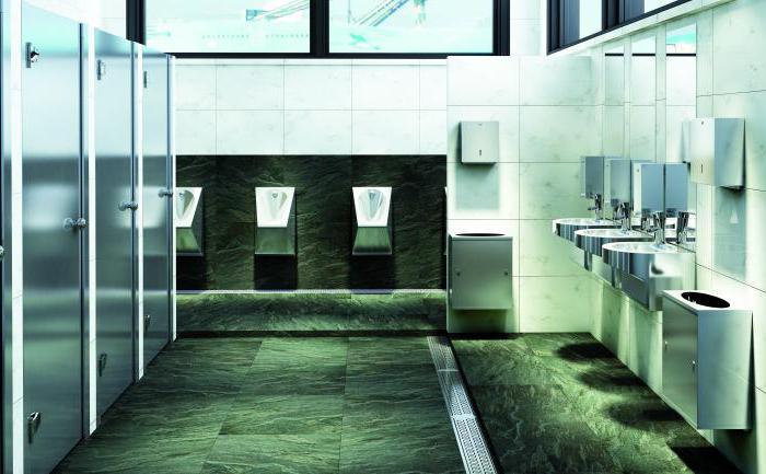 сонник очень чистый общественный туалет