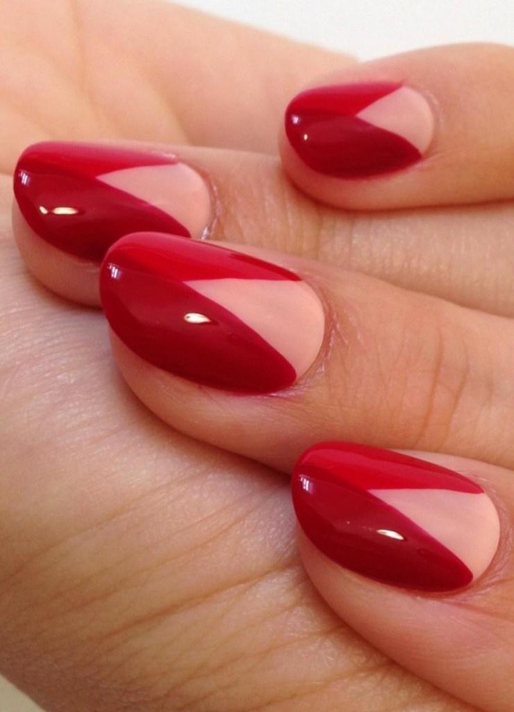 Гель-лак дизайн ногтей картинки красный
