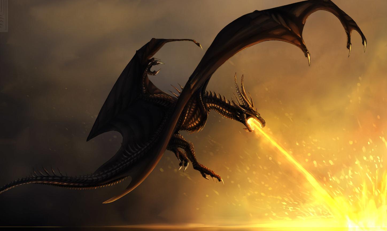 атакующий дракон картинки стебли растения природе