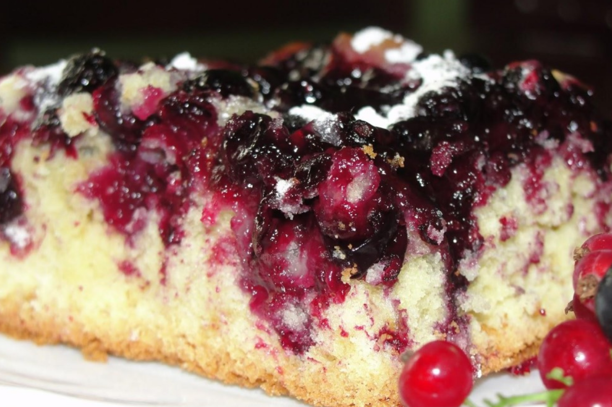 пирог из смородинового варенья рецепт с фото