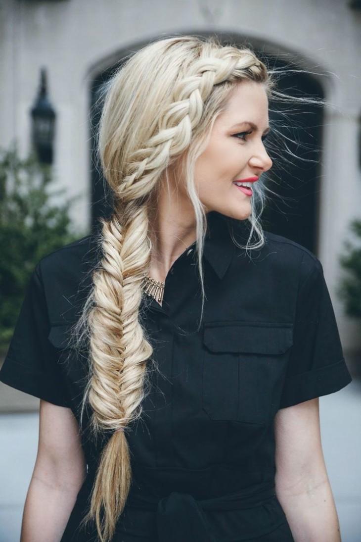 красивые плетения на длинные волосы фото этой куклой шел
