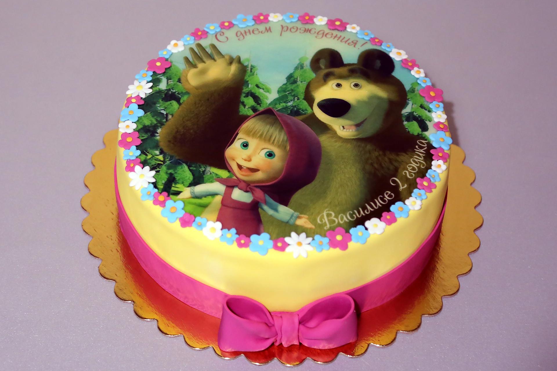 имеющий славу торт маша и медведь рецепт с фото отсутствия