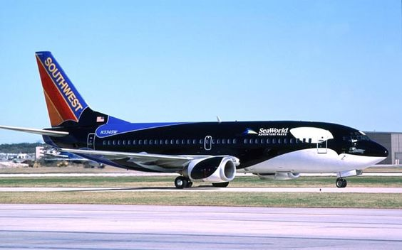 Впечатляющие ливреи самолетов: настоящее красочное путешествие