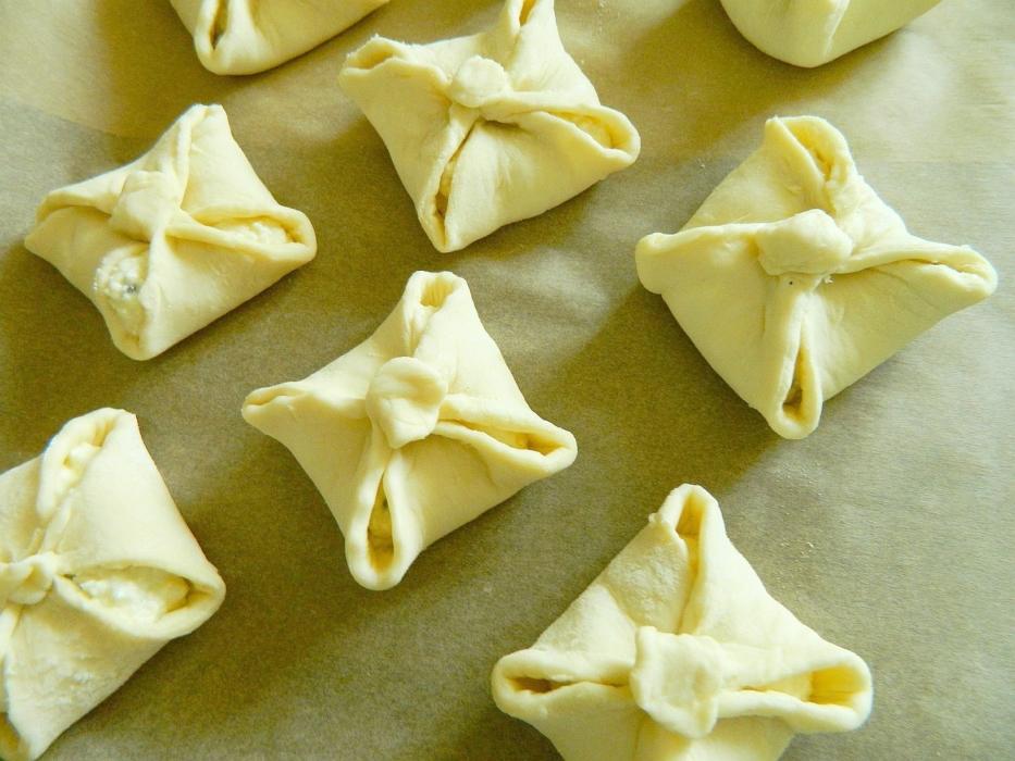 Конвертики с творогом − 6 рецептов приготовления