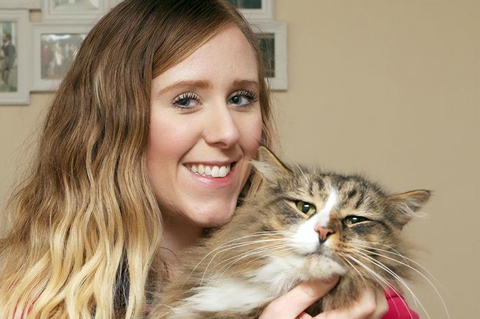 Хозяева нашли своего кота спустя 14 месяцев. Вы не поверите, почему он поправился в 2 раза!