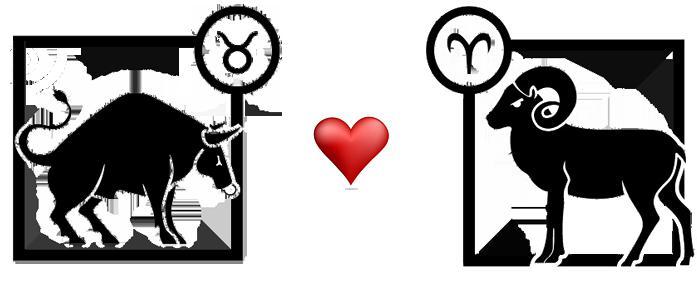 Женщина Овен и мужчина Телец: совместимость знаков Зодиака в любви, в браке и в сексе