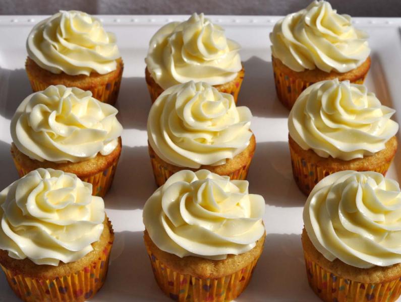Банановые капкейки – 6 рецептов приготовления