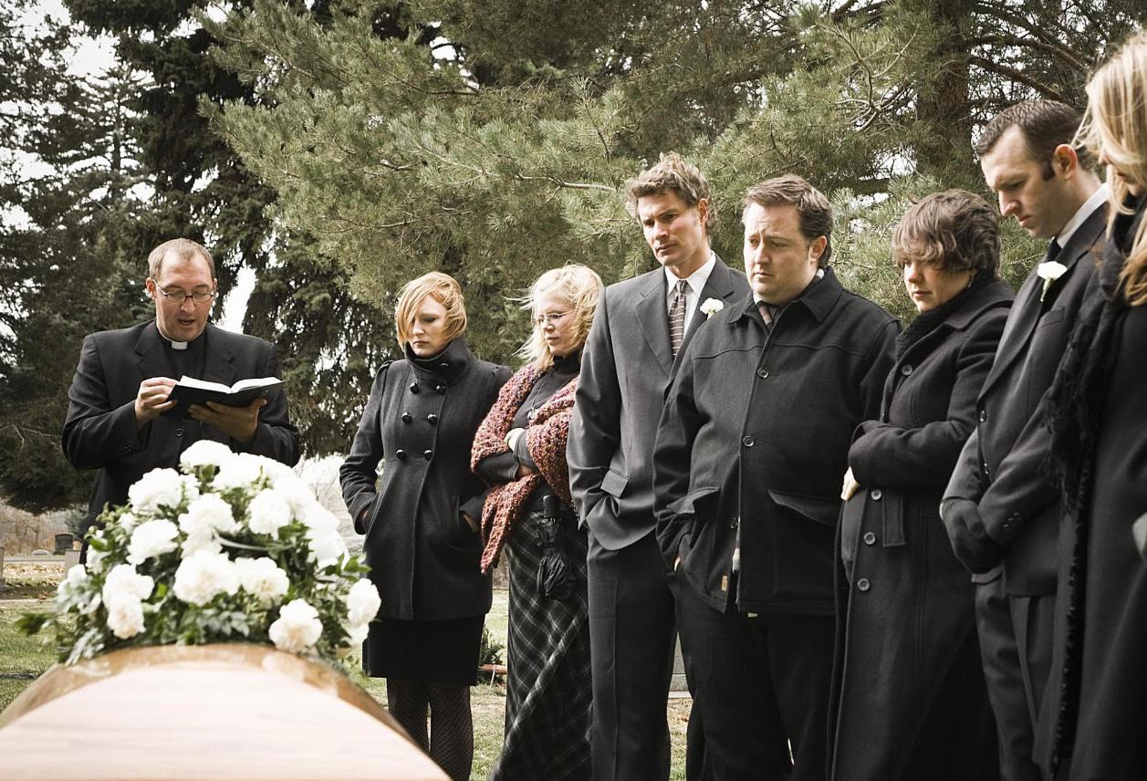 Сонник быть на похоронах незнакомого человека
