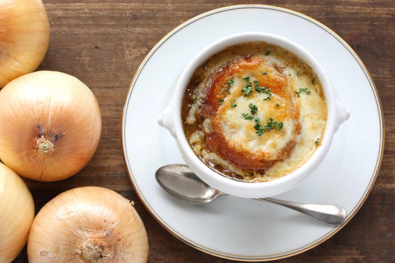 Французский луковый суп рецепт с фото пошагово