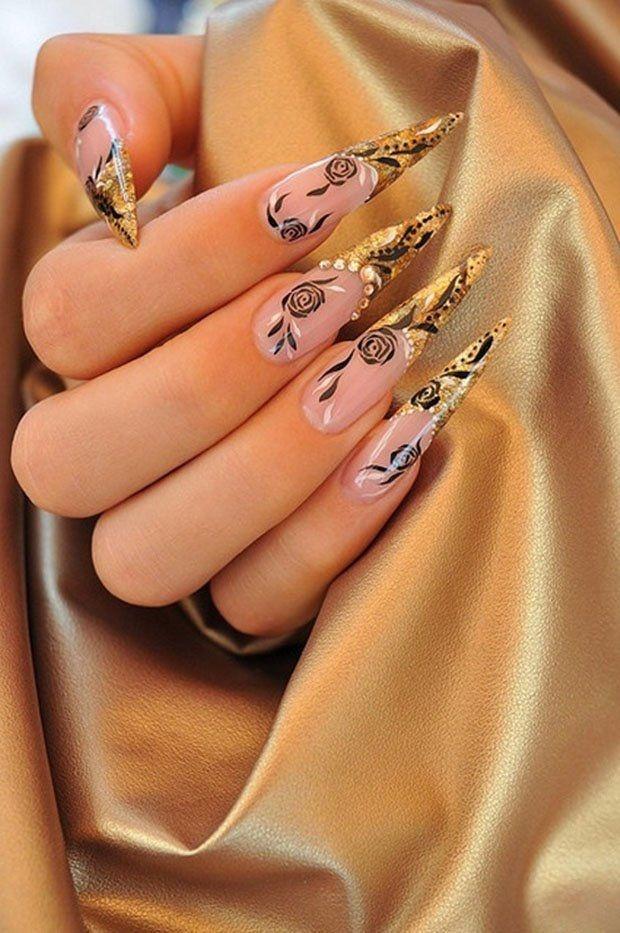 длинные нарощенные красивые ногти картинки