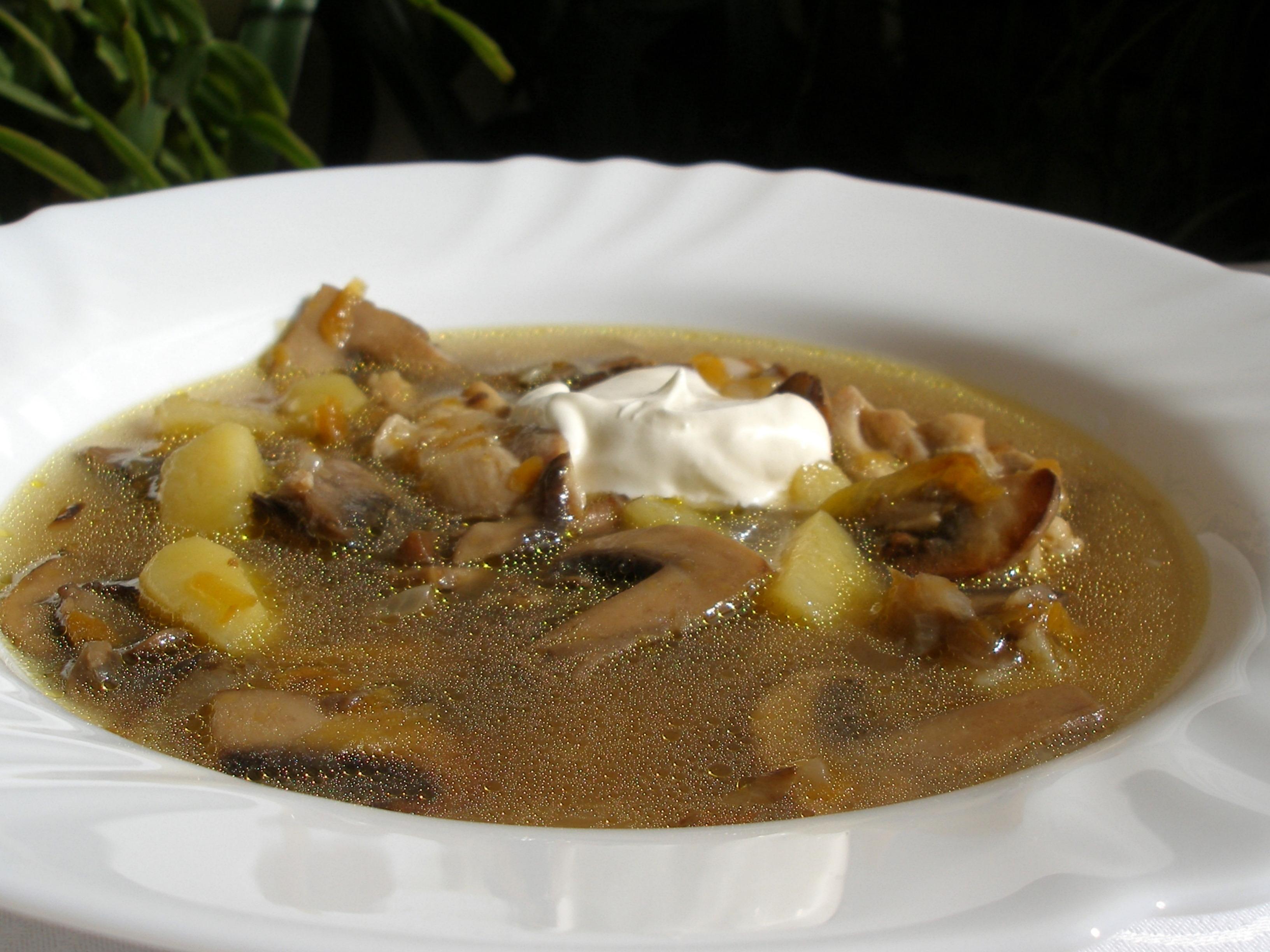 настоящее грибной суп микс рецепт с фото это