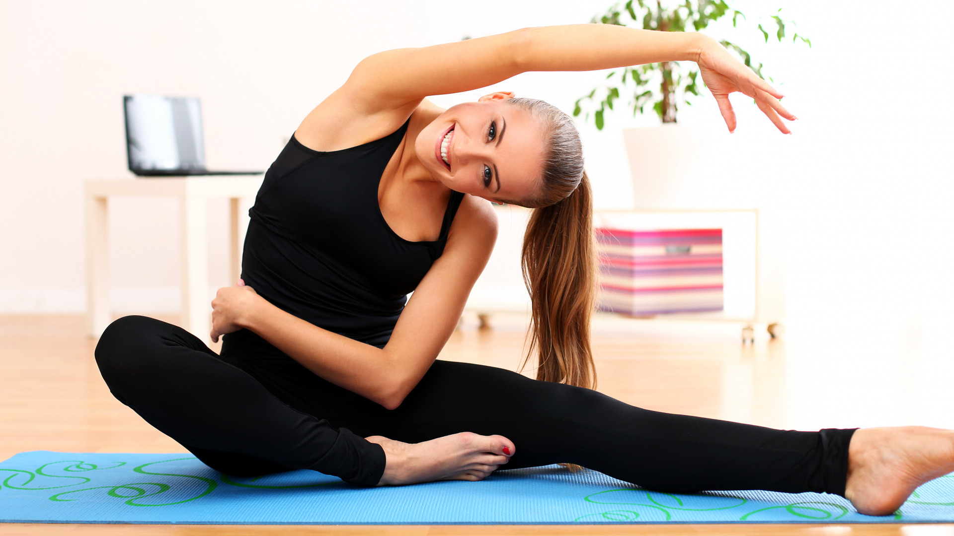 Йога помогает похудеть