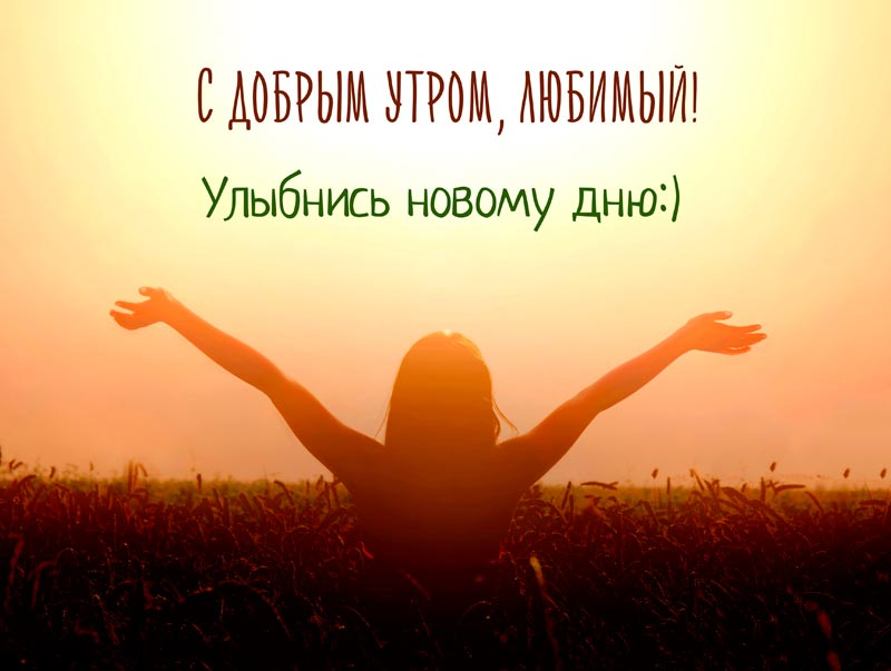Пожелания с добрым утром для любимых: прикольные, красивые ...  Доброе Утро Мой Зайчик