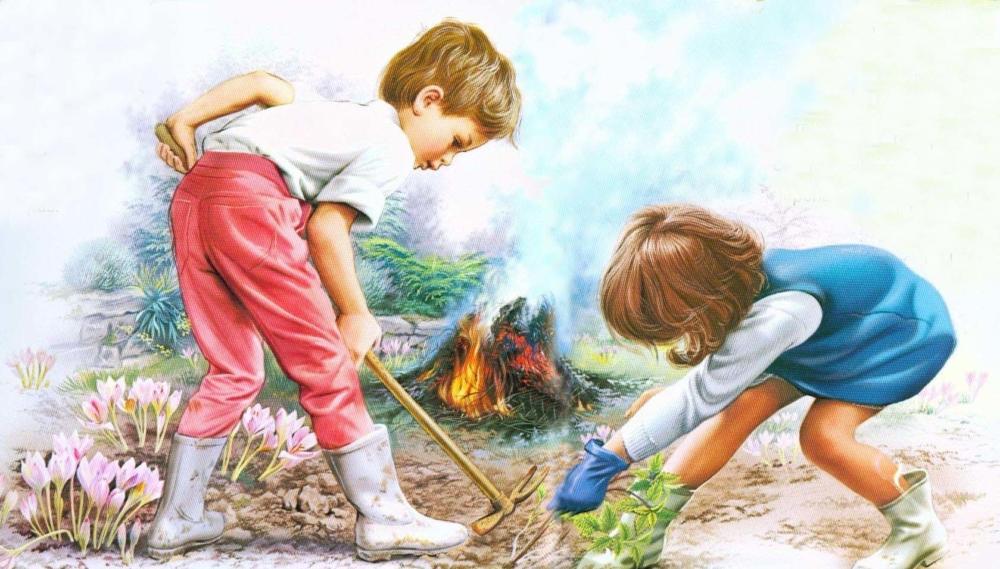 Картинка дело для детей