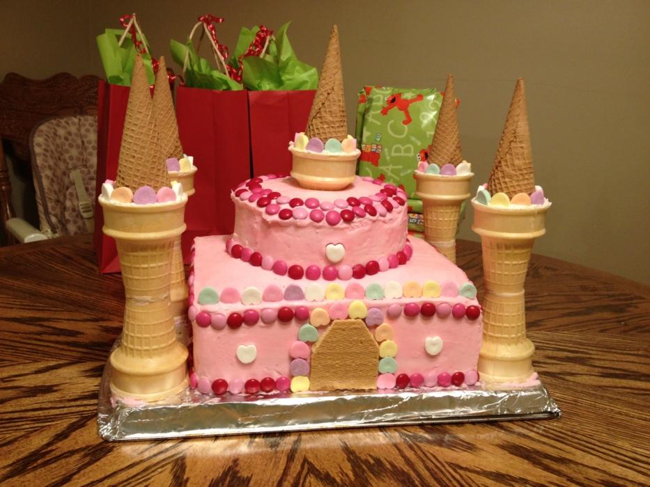 торт замок фото капли дождя, размытые