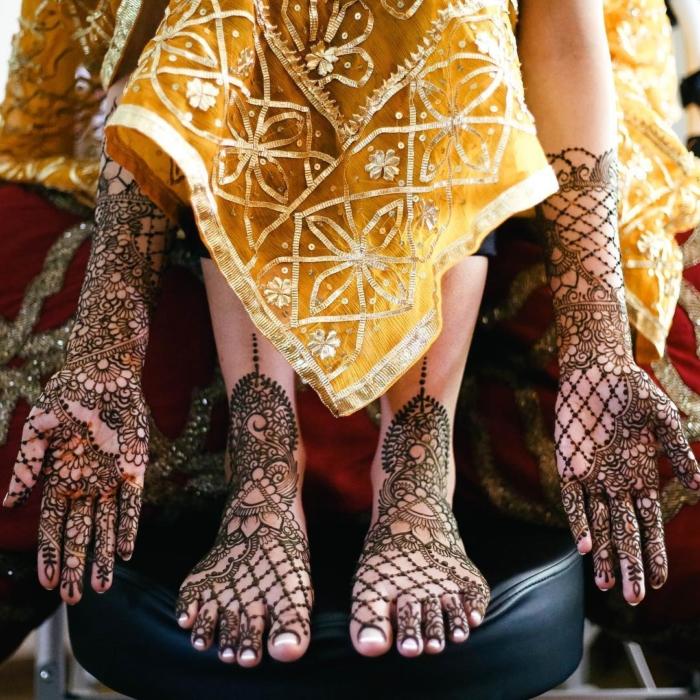 Индийское рисование на теле, которое принесет вам счастье: наука Мехенди