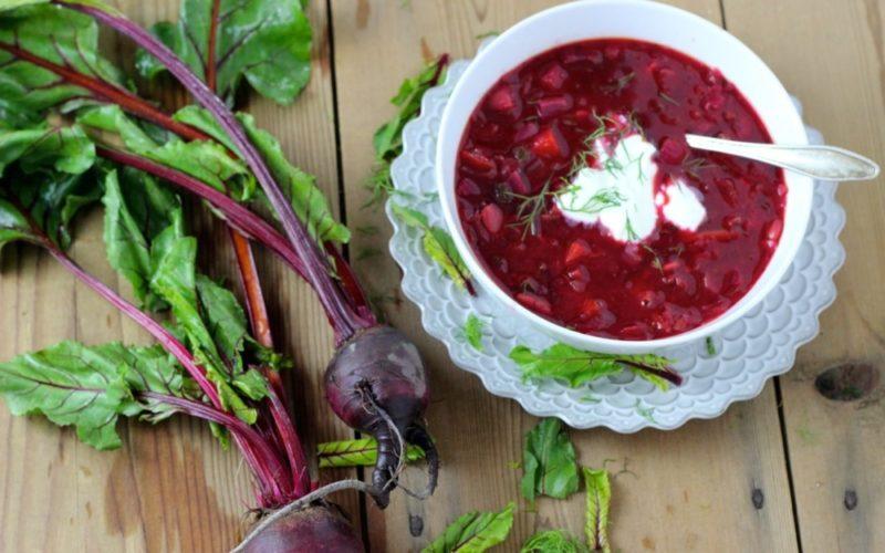 Красный борщ - 5 самых вкусных рецептов, как сварить борщ, чтобы он был красным