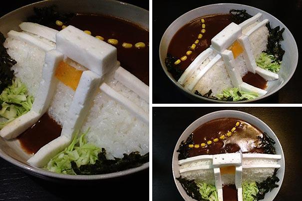 Креативно и вкусно: японские рестораны подают рис самым необычным в мире способом!