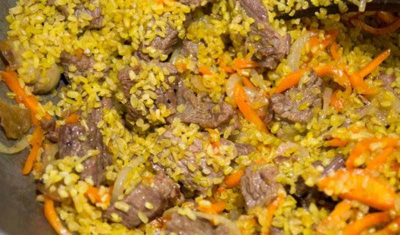 Плов с говядиной − 5 пошаговых рецептов приготовления