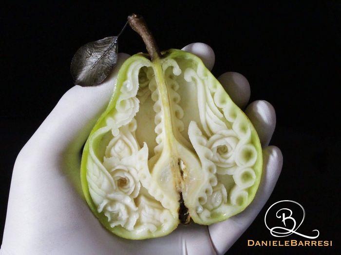 Магия ножа: чеснок, фасоль, авокадо, груша и чеснок в совершенно новом обличии