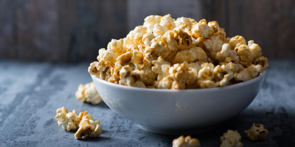 Попкорн калорийность соленого сладкого карамельно и без добавок