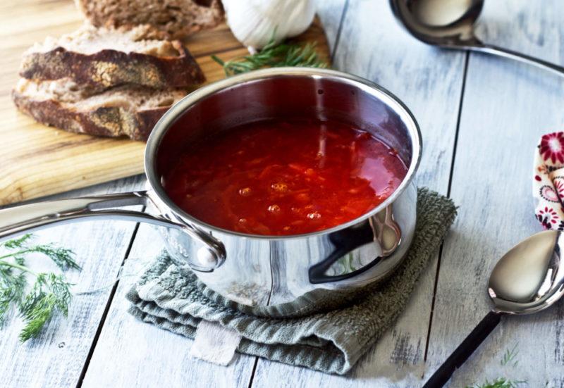 Постный борщ – 5 очень вкусных рецептов приготовления