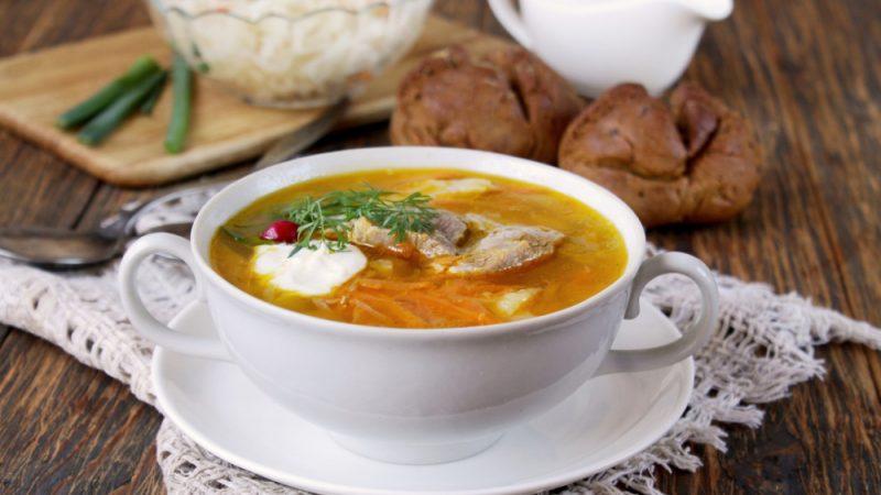 Сколько калорий в супе, польза для организма, как снизить калорийность первых блюд