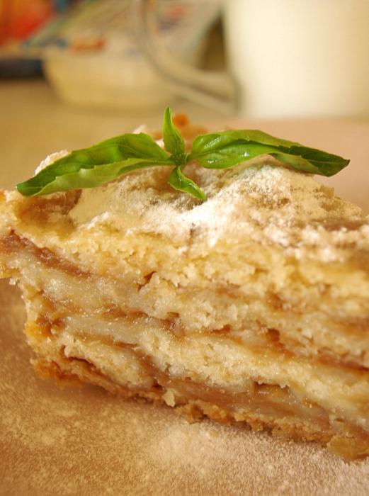 Рецепт постного яблочного пирога