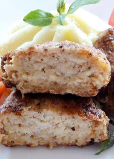 Рецепт рыбных котлет с салом – очень вкусно
