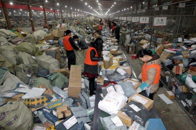 Склад посылок в Китае